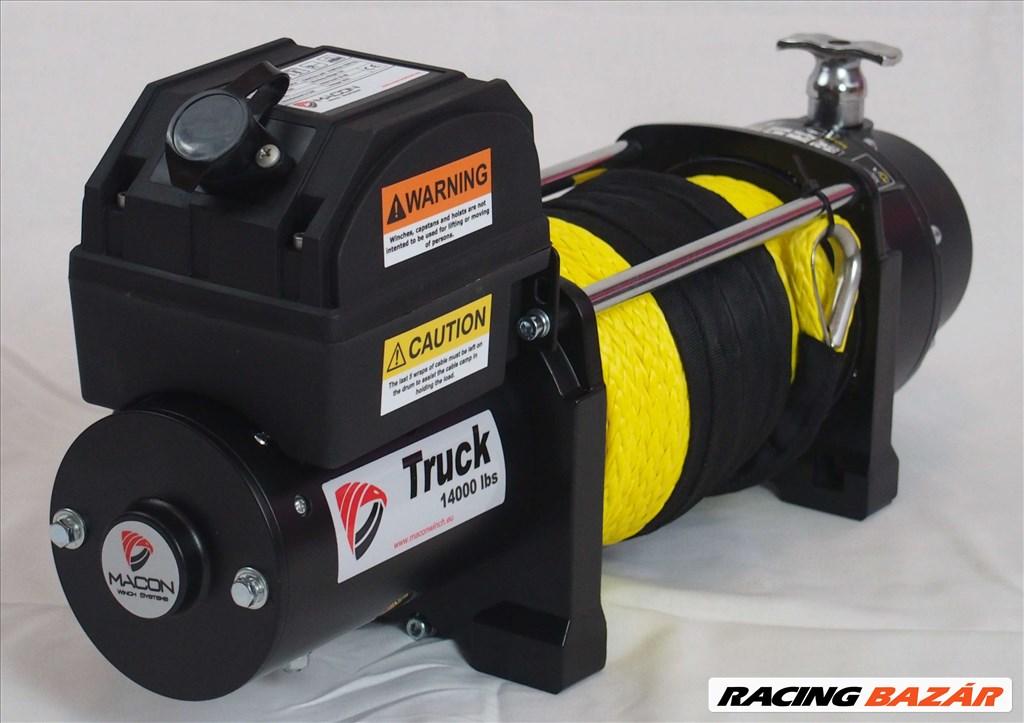 Macon Winch TRUCK 6,5t csörlő 10 ÉV Garancia! 3. kép