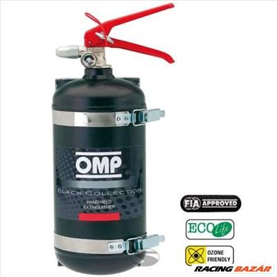 OMP 2,4l Ecolife AFFF töltetű kézi tűzoltó palack tartóval