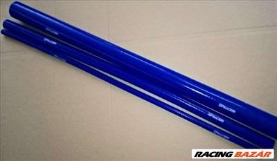 Egyenes szilikon cső 1 méter hosszú - 114 mm (kék)
