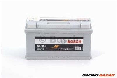 BOSCH 0 092 S50 130 - Indító akkumulátor ALFA ROMEO ALPINA ASTON MARTIN AUDI BENTLEY BMW BUGATTI CHE