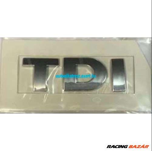 Audi TDI felirat / matrica hátulra / csomagtér ajtóra 1. kép