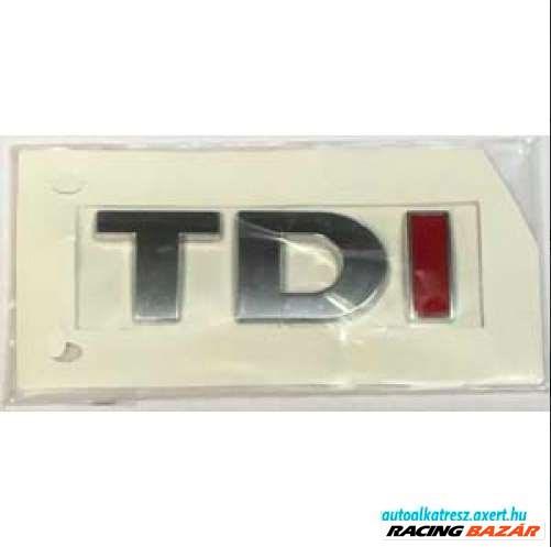 Audi TDI felirat / matrica hátulra / csomagtér ajtóra 2. kép