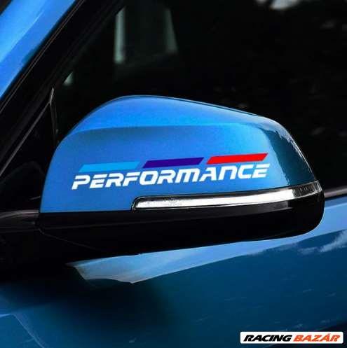 BMW -hez M Performance tükör matrica 1. kép
