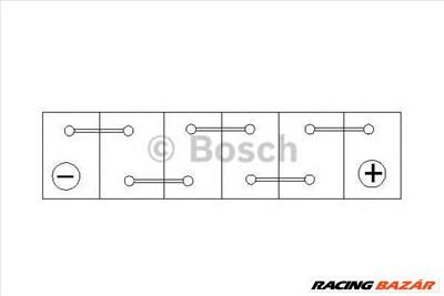 BOSCH 0 092 S30 130 - Indító akkumulátor ALFA ROMEO ALPINA ASTON MARTIN AUDI BENTLEY BMW BUGATTI CIT