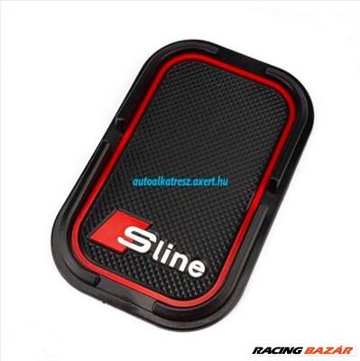 Audi Sline telefontartó gumipad
