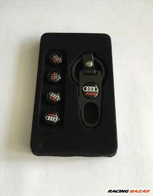 Audi -hoz szelepsapka szett - kulcstartóval