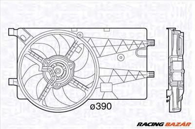 MAGNETI MARELLI 069422575010 - hűtőventillátor CITROËN FIAT MERCEDES-BENZ PEUGEOT SPECTRE SUBARU TVR