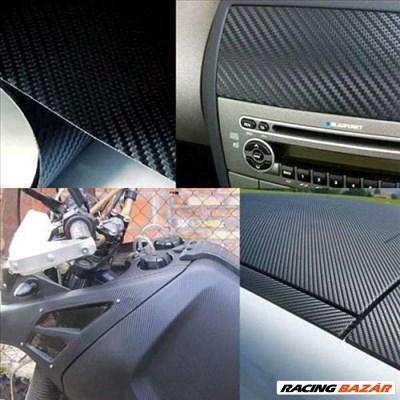 Autó karosszéria fólia Légcsatornás fekete karbon fólia 50*60 FN-CS294/60