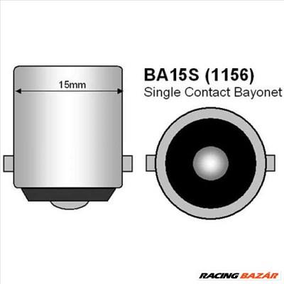 BA15s 21W LEDes Tolatólámpa helyzetjelző izzó SMD-L20T-1156-3-0-W-BA15s