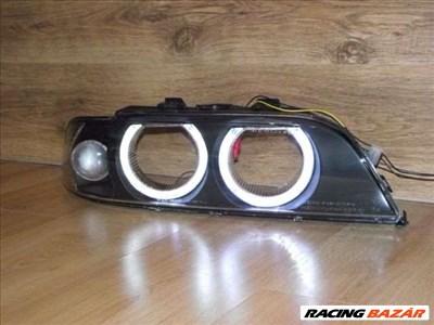 BMW E39-hez angel eyes lámpabúra, fehér indexes.