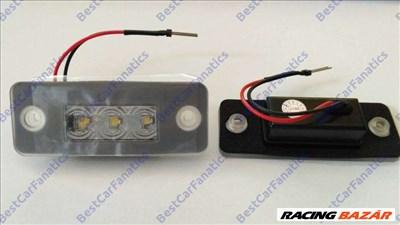 AUDI A8 D3 fehér SMD LED rendszámtábla világítás