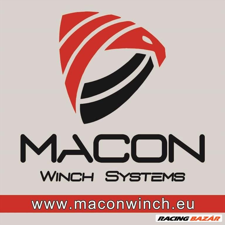 Macon Winch 14000 elektromos csörlő 6,5 tonna 10 év garancia 10. kép