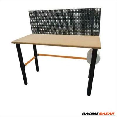 Lincos Moduláris munkaasztal szerszámtartó hátfallal 125x62x80cm WB1208P