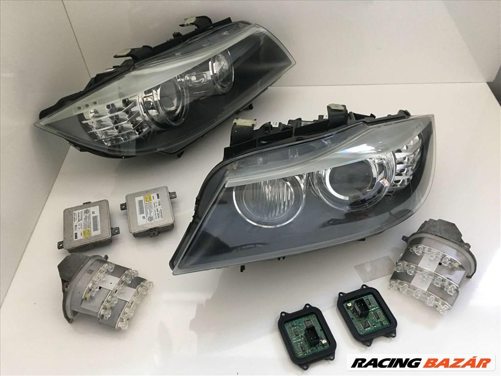 BMW E90 /E91 LCI kanyaros első lámpák / alkatrészei 3. nagy kép
