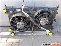 VW Sharan PDTDI Dízel Vízhűtő, klímahűtő, Ventilátor, Cooler