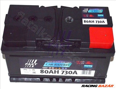 BATTERY 80AH 730A 315X175X175 BMW 5 (E34) - FASTORIGINAL