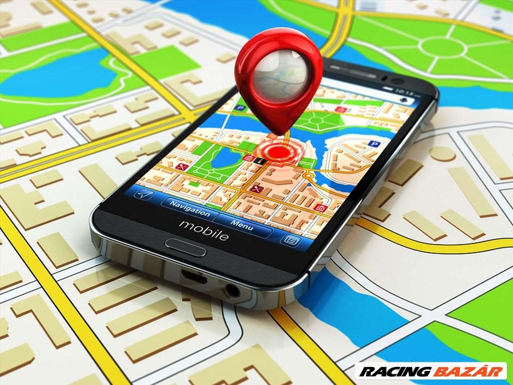 Autó GPS nyomkövető Ingyenes Magyar Szerveren keresztül havidíj mentes! Beszerelve! 1. kép