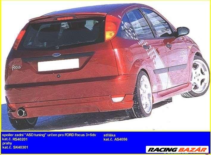 Ford Focus MK1 hátsó lökhárító toldat spoiler 1. kép
