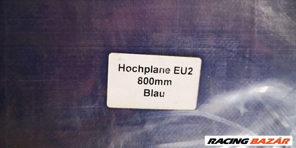 TPV Böckmann EU2 ponyvaszett 800 mm. (új kék színű)  ponyva + váz! 1. kép
