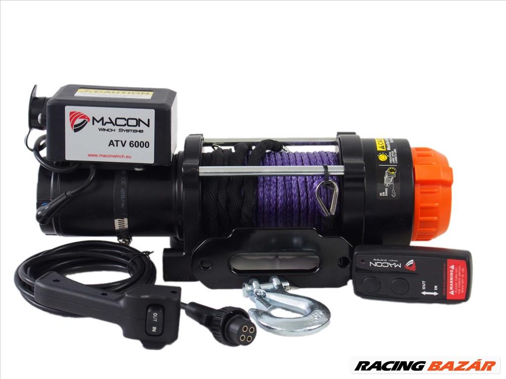 Macon Winch 6000 elektromos csörlő 1. kép