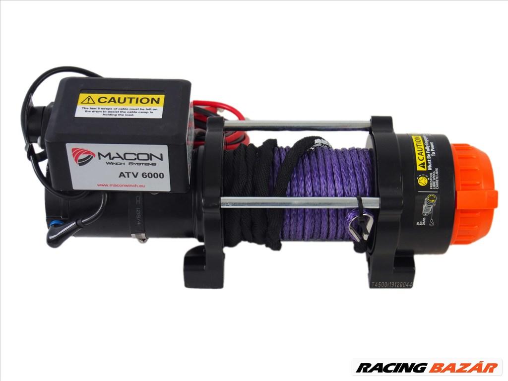 Macon Winch 6000 elektromos csörlő 2. kép