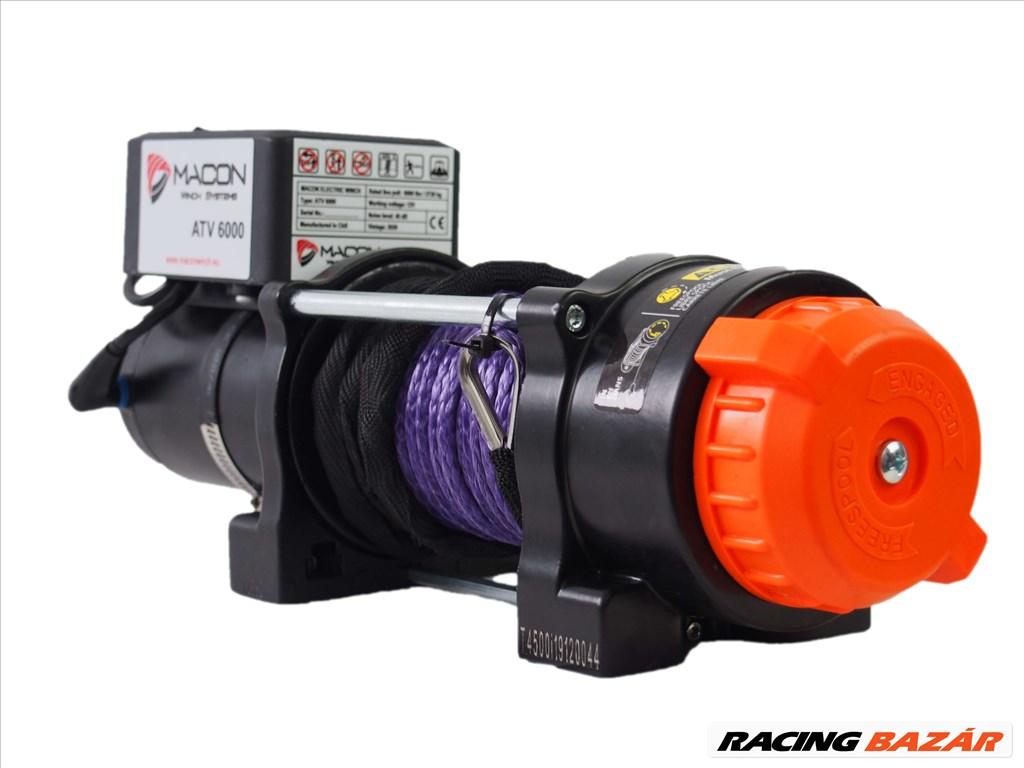 Macon Winch 6000 elektromos csörlő 4. kép