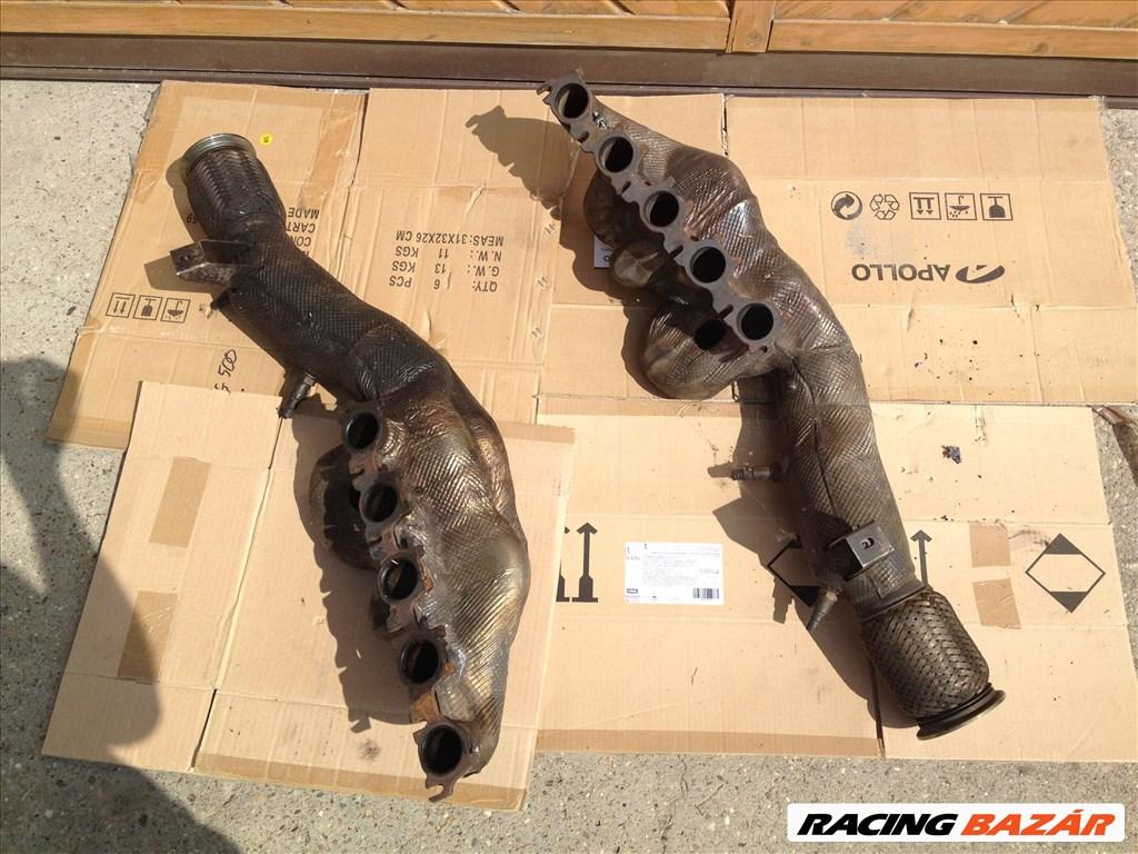 Lamborghini Huracan 5.2 V10 kipufogó leömlő és katalizátor 1. kép