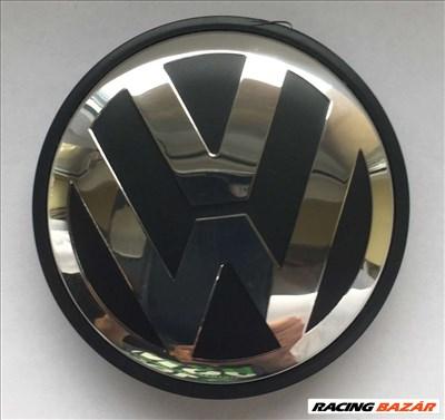 Volkswagen Vw 90 mm öntapadós embléma alumínium matrica 4 db