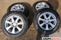 R17 használt Alutec alufelni, rajta 235/65 R17 használt Pirelli Ice Snow téli gumi