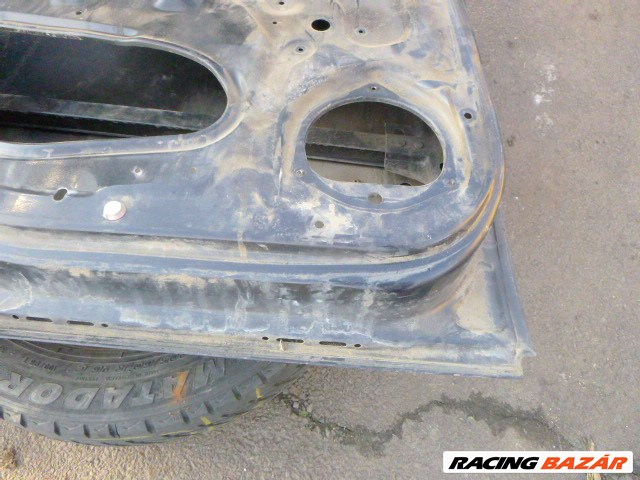 Opel ASTRA G 5 AJTÓS FEKETE BAL HÁTSÓ AJTÓ 1998 4. nagy kép