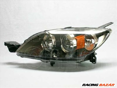 Mazda 3 2003-2006 - Fényszóró HB3/H7 bal, 5 ajtós (belülr. áll.) DEPO