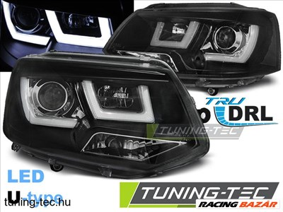 Volkswagen VW T5 2010- U-TYPE BLACK Tuning-Tec fényszóró