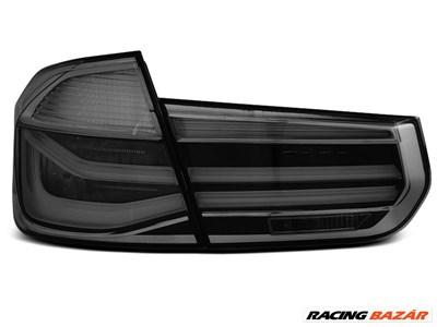 BMW F30 11-15 Füstös LED BAR Hátsó Lámpa