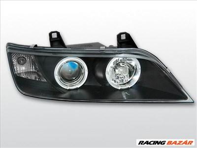 BMW Z3 1996.01-2002 Fekete ANGEL EYES Első Lámpa