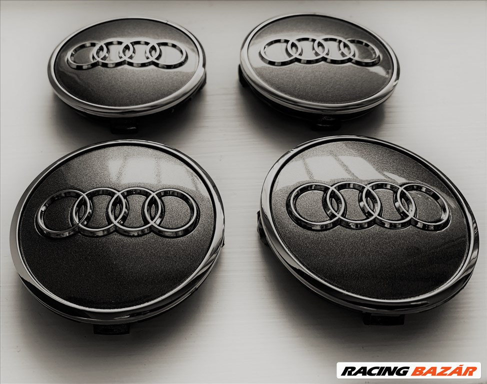 Audi alufelni közép kupak 61mm 1. kép