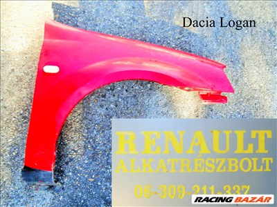 Dacia Logan jobb első sárvédő