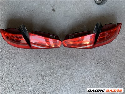 Audi A4 (B8 - 8K) FL sedan hátsó lámpa szett