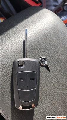 Opel kulcsház új nyers tollszárral elektronika nélkül- bicskakulcs