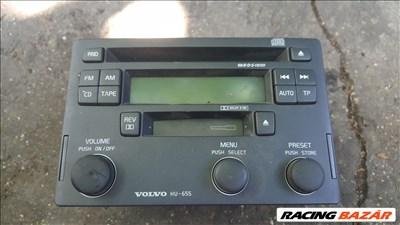 Volvo HU655 gyári cd-s, kazettás  rádió eladó!