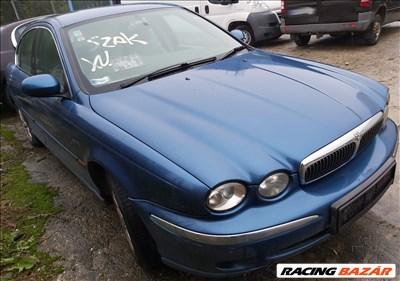 Jaguar X-Type (CF1) 2.5 V6 bontott alkatrészei Motor, Váltó, Karosszéria elemek