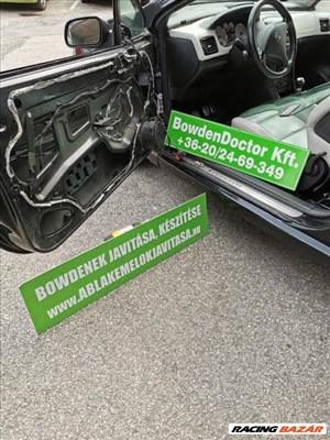 Peugeot 307 CC cabrio ablakemelő javítás,szereléssel is,csúszka,bowden,szett!