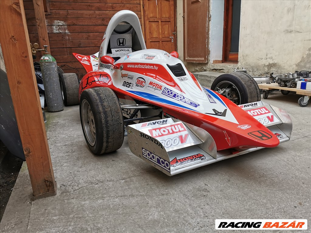 Egyedi Formula Szlalom autó 4. kép