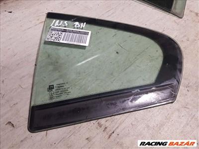 Opel Insignia A bal hátsó ajtó fix üveg 13319255