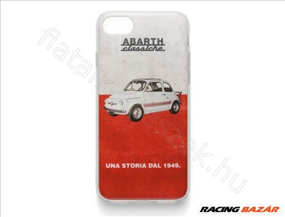 ABARTH Classic Iphone 7/8 Szilikon tok             - FIAT eredeti