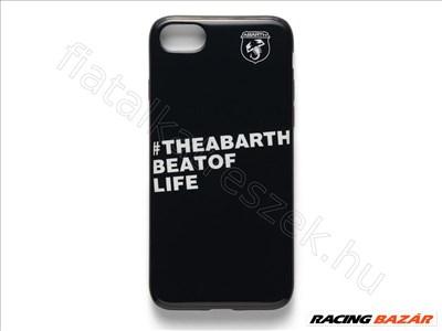 ABARTH Iphone 7/8 Szilikon tok            - FIAT eredeti