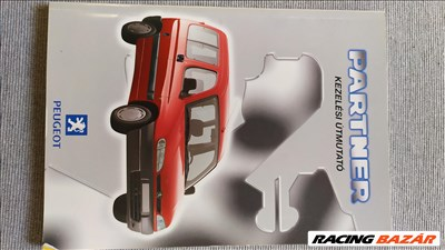 Peugeot Partner Kezelési Útmutató eladó!