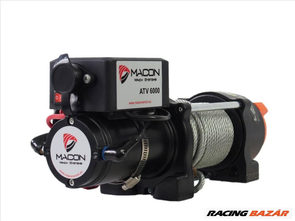 Utánfutó csörlő Macon Winch ATV 6000 elektromos csörlő 3. kép