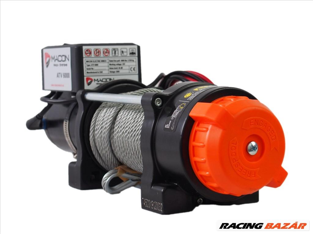 Utánfutó csörlő Macon Winch ATV 6000 elektromos csörlő 4. kép