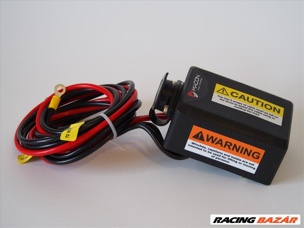 Utánfutó csörlő Macon Winch ATV 6000 elektromos csörlő 6. kép