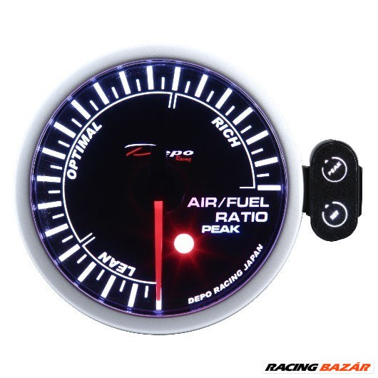 DEPO RACING PEAK 52mm - Üzemanyag-levegő keverék mérő / AFR műszer 1. kép
